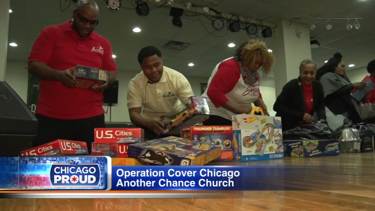 Hundreds of Chicago kids will get toys for Christmas thanks to Operation Cover.