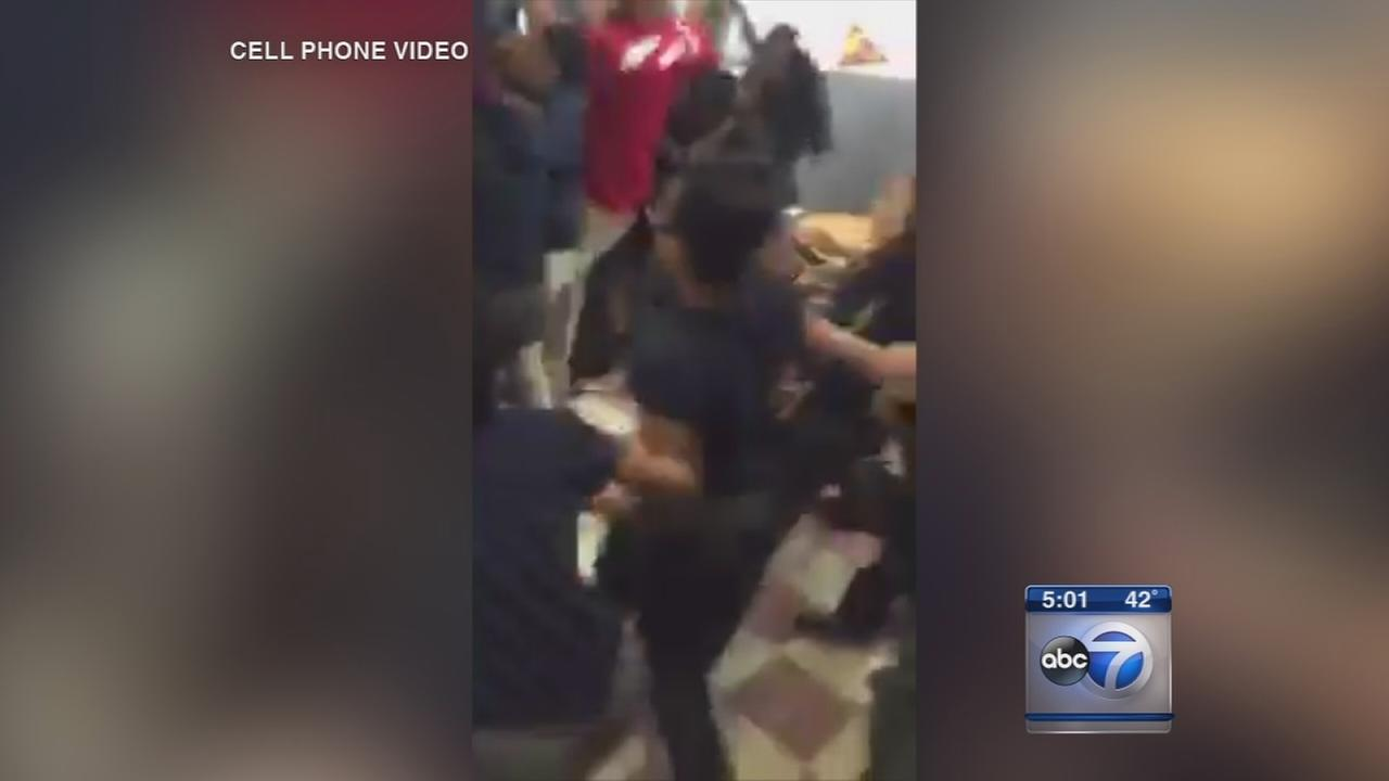 3 sisters among 14 girls suspended after school fight caught on video