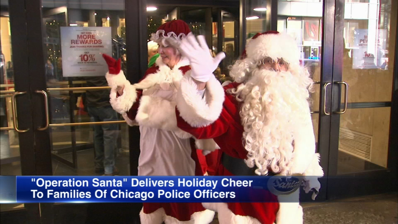The Chicago Police Memorial Foundation kicked off its Operation Santa this weekend.