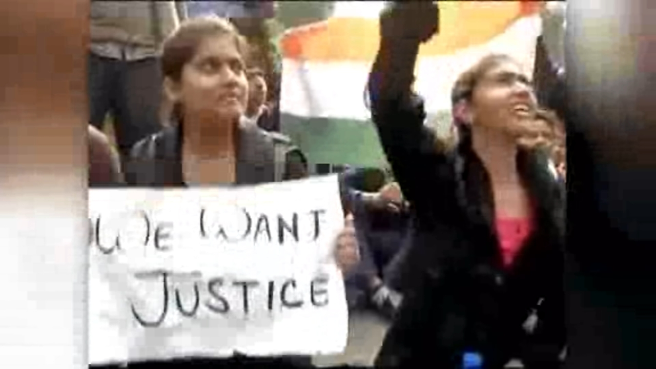 A three-year-old girl is recovering in hospital after she was allegedly raped in Delhi on Sunday.