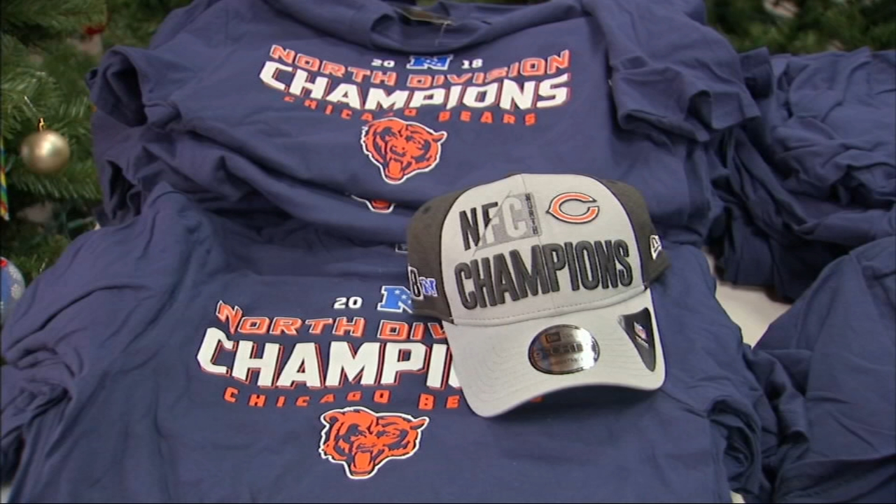 Bears fans are still celebrating Monday morning after clinching the NFC North championship Sunday.