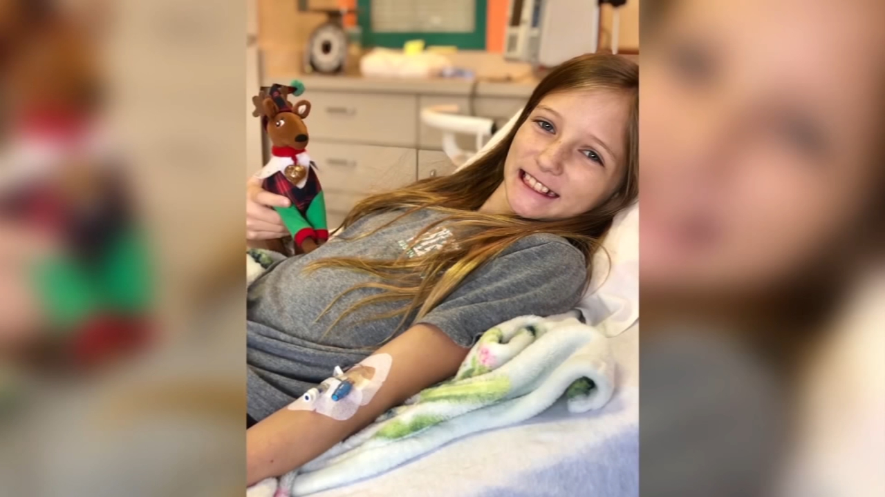 A little girls inoperable brain tumor is gone and doctors have no explanation.