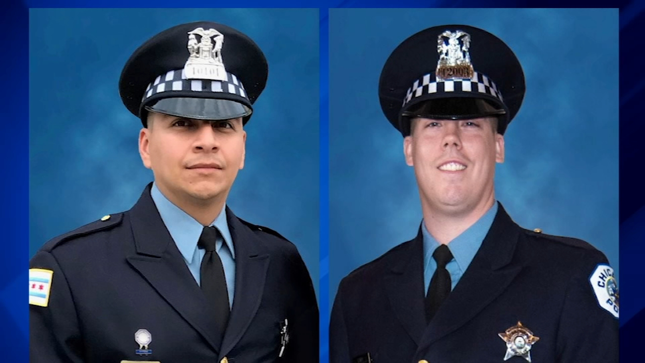 Conrad Gary, 31, and Eduardo Marmolejo, 36 -- rookie cops with CPDs 5th District -- were fatally struck by a train while searching for a suspect.