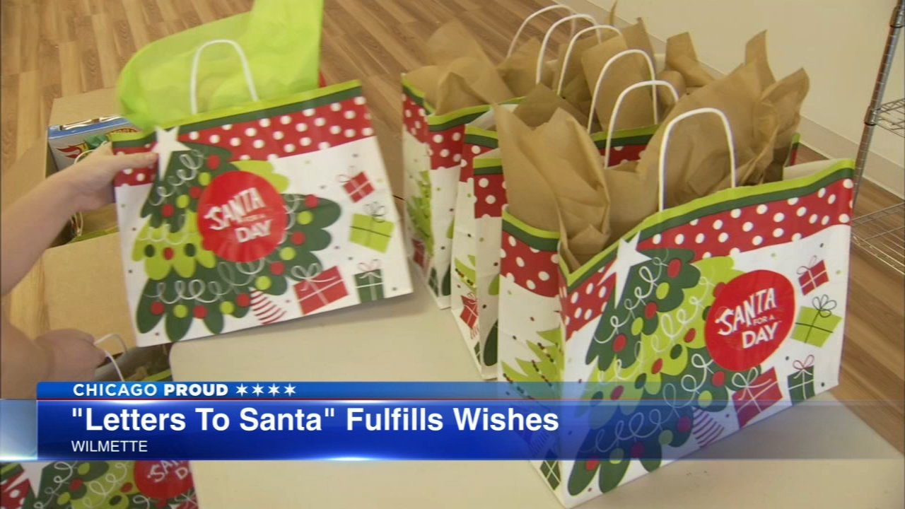 Letters to Santa provided Christmas gifts to children living in Chicagos public housing.