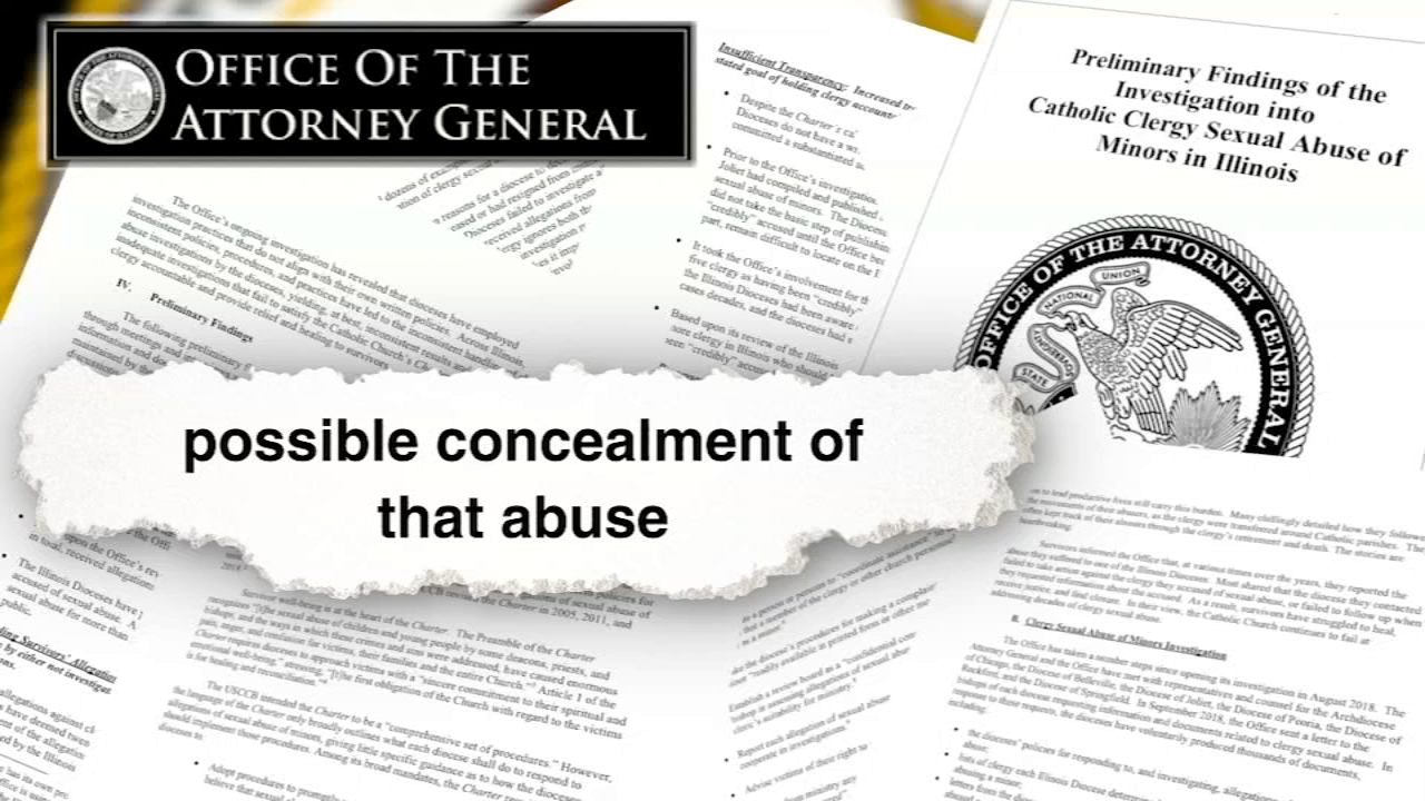 Secret Abusers? New state report questions whether Catholic Church officials in Illinois covered up clergy sex abuse cases.