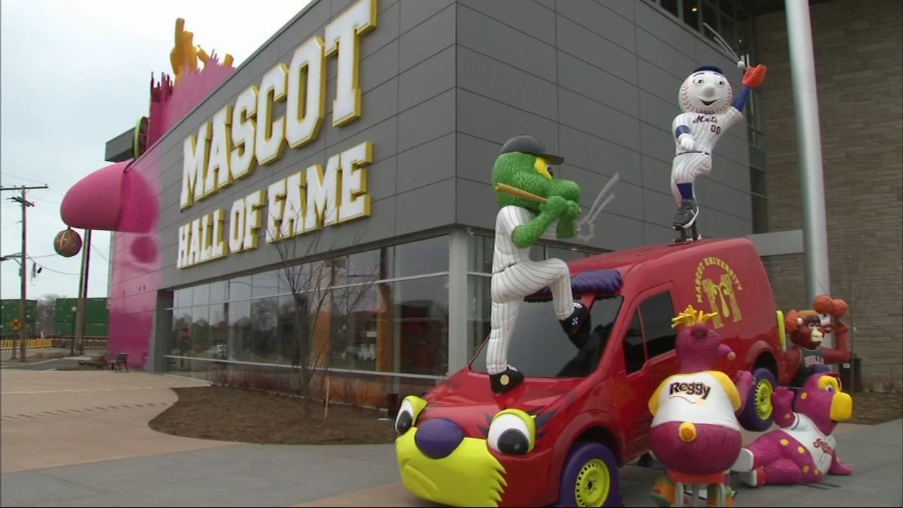 After five years of planning and building, the National Mascot Hall of Fame is ready to open its doors in Whiting, Indiana.