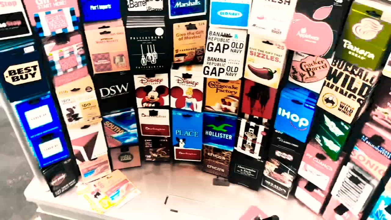 Gift cards are popular gifts this time of year, but theyre also big targets for theft.