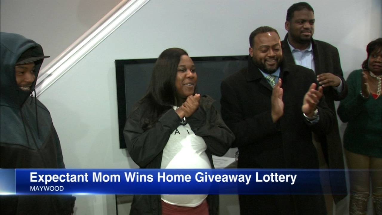 A mother-to-be is now also a homeowner after winning the Cook County Land Bank Authoritys 2018 house lottery.