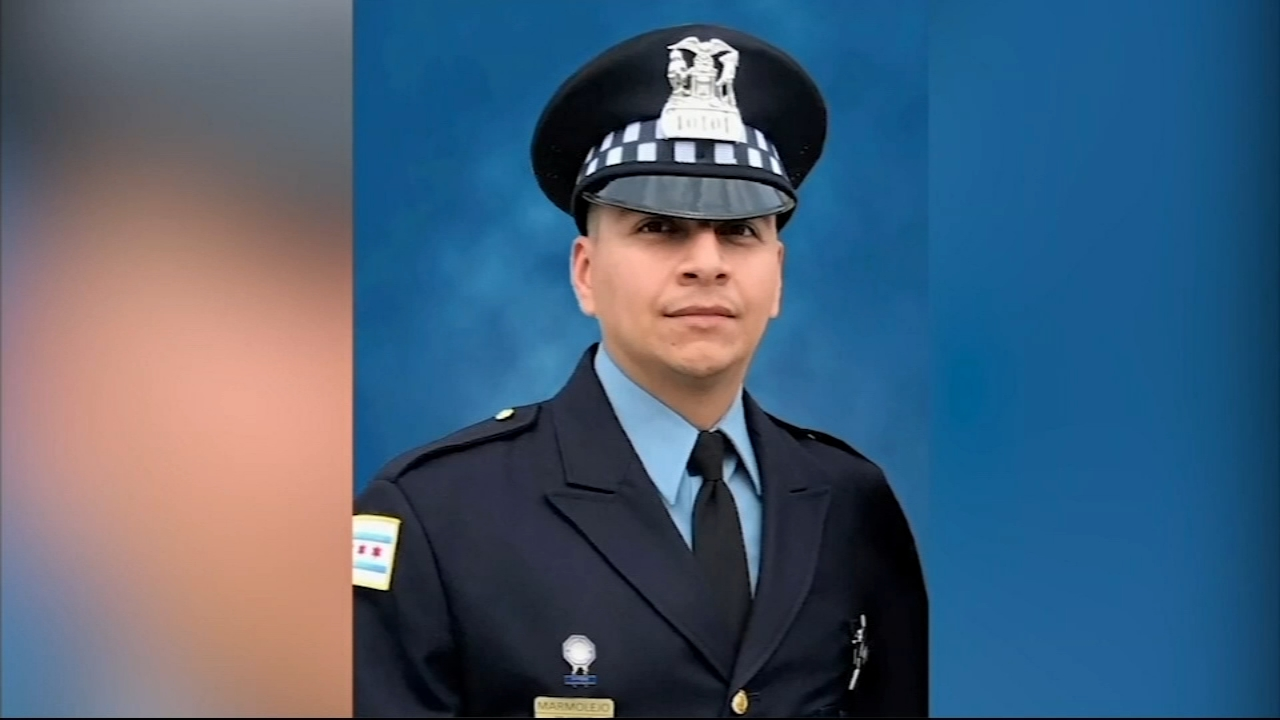 Friends, family, colleagues and members of the community gathered Friday to say goodbye to fallen Chicago police officer Eduardo Marmolejo Friday evening.