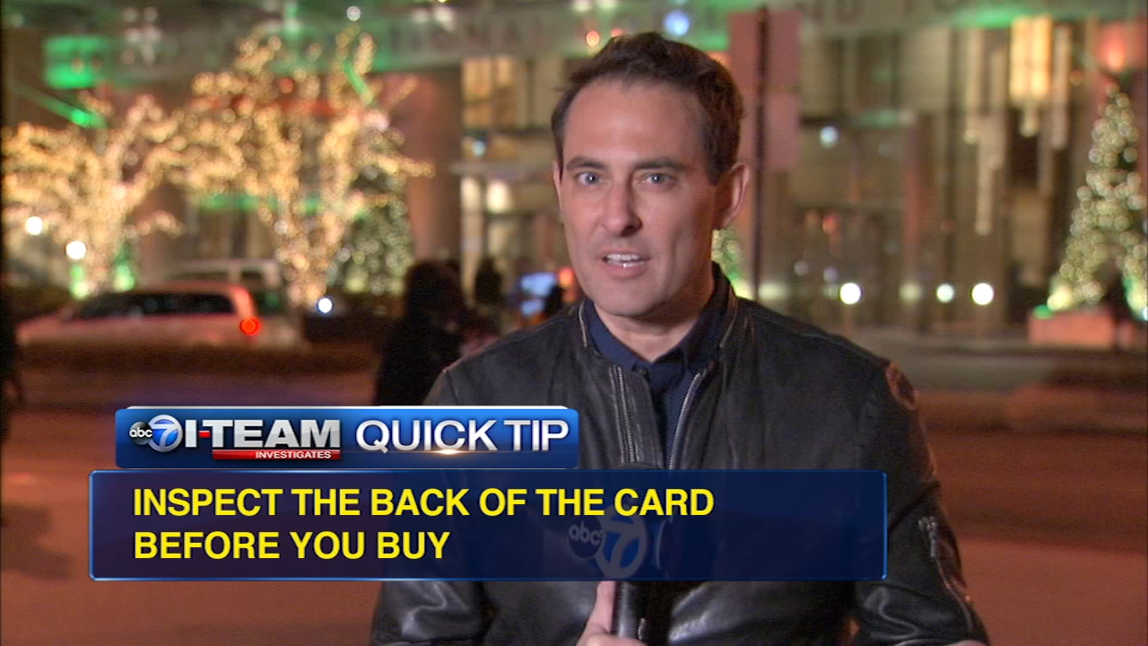 Quick Tip: Scammers target gift cards