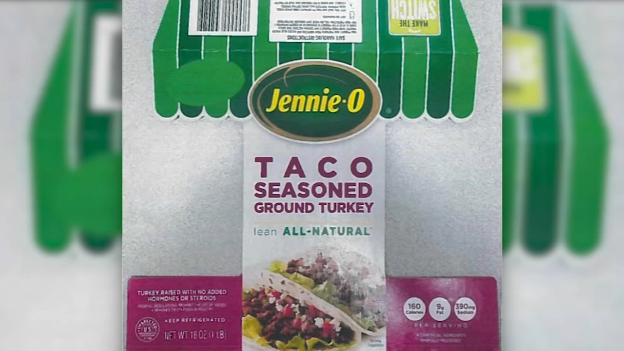 Jennie-O Turkey Store Sales, Inc., is recalling approximately 164,210 pounds of raw ground turkey products due to the possibility of salmonella contamination, the United States Dep