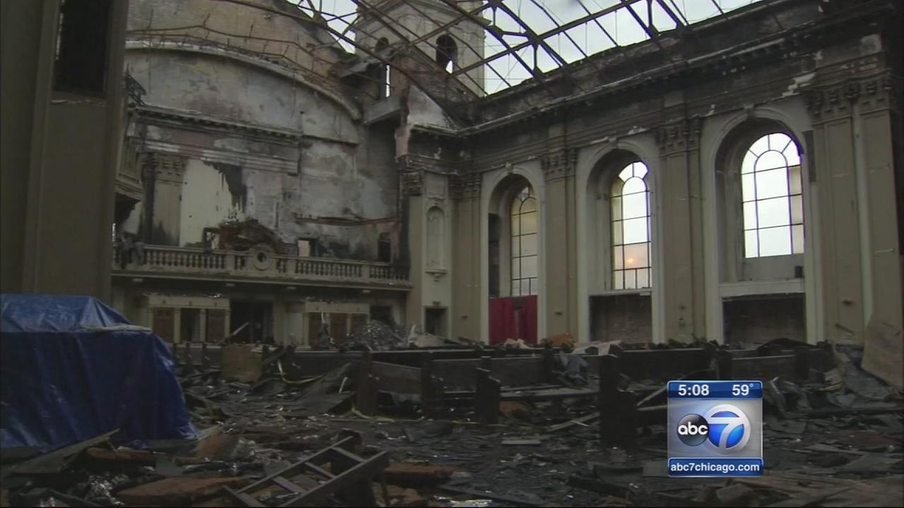 Church to rebuild after fire