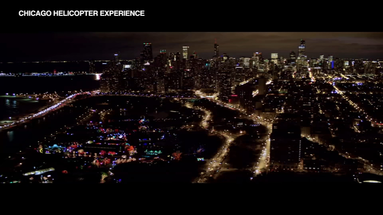 Chicagos stunning skyline is filled with sparkling holiday lights, and a great way to get a look at the view is by helicopter. Thats why The Chicago Helicopter Experience wants t