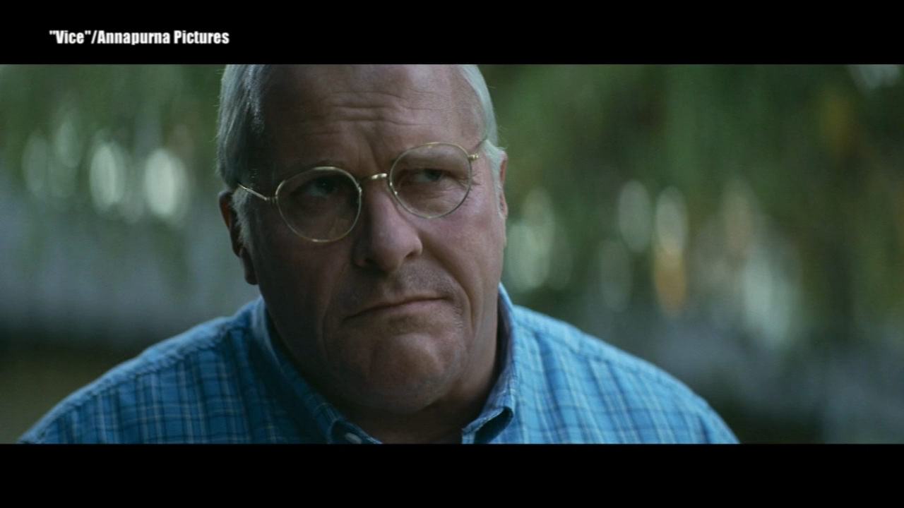Actor Christian Bale transformed into former VP Dick Cheney in the new movie Vice, which hits theaters on Christmas Day.
