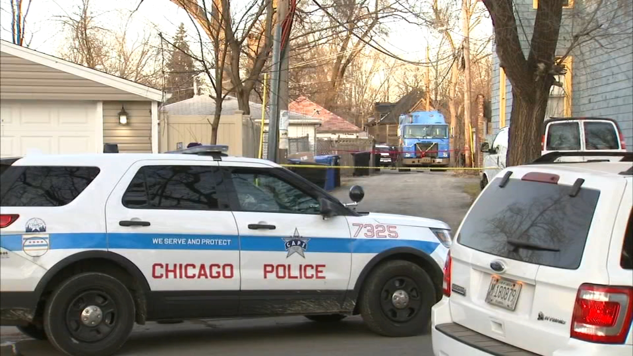 Chicago police are investigating after a body was found in garbage on the citys South Side Monday.