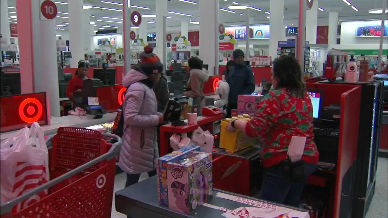 A lot of people who looked at their Christmas lists and realized they forgot to get something are out picking up last-minute gifts on Christmas Eve.