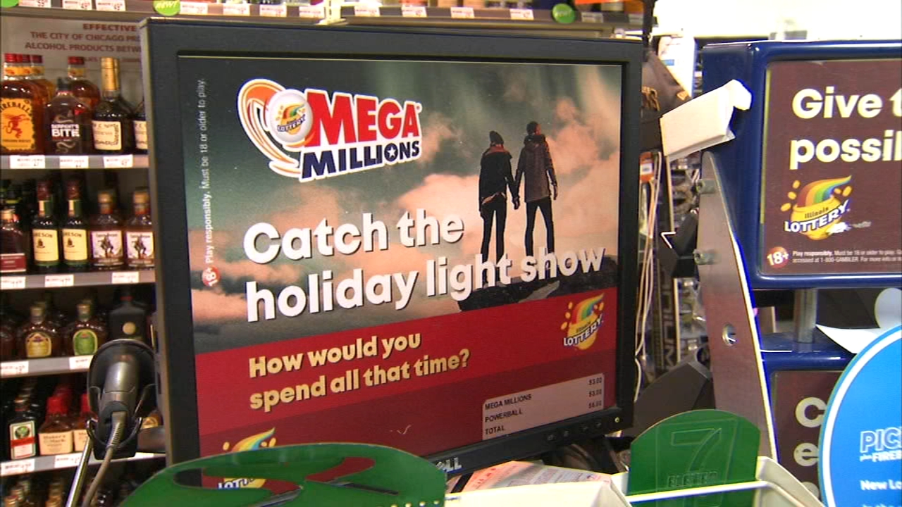 The Mega Millions jackpot rolled to $348 million after the drawing on Christmas Day.