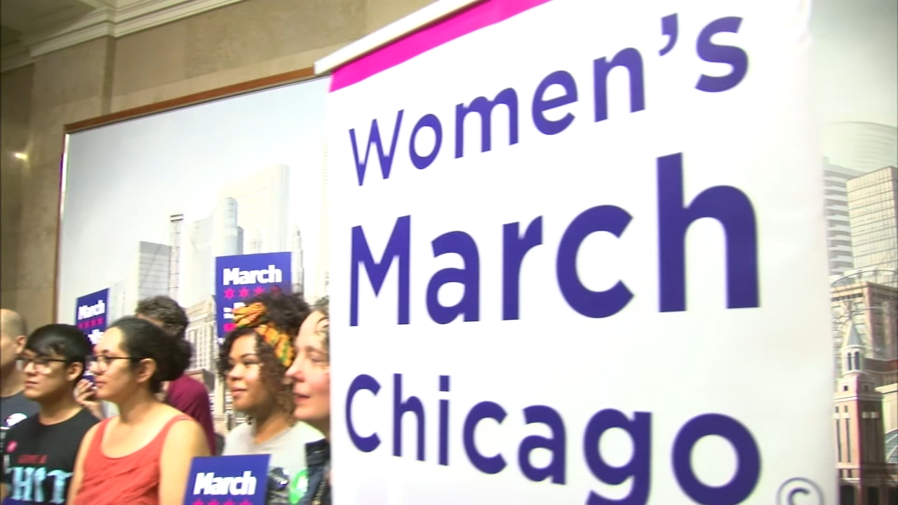 Chicago will not hold an actual march next month as part of the nationwide Womens March.