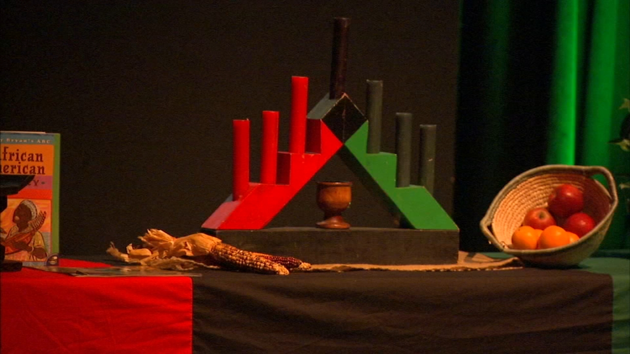 Celebrations marking the second day of Kwanzaa were held throughout city and suburbs Thursday.
