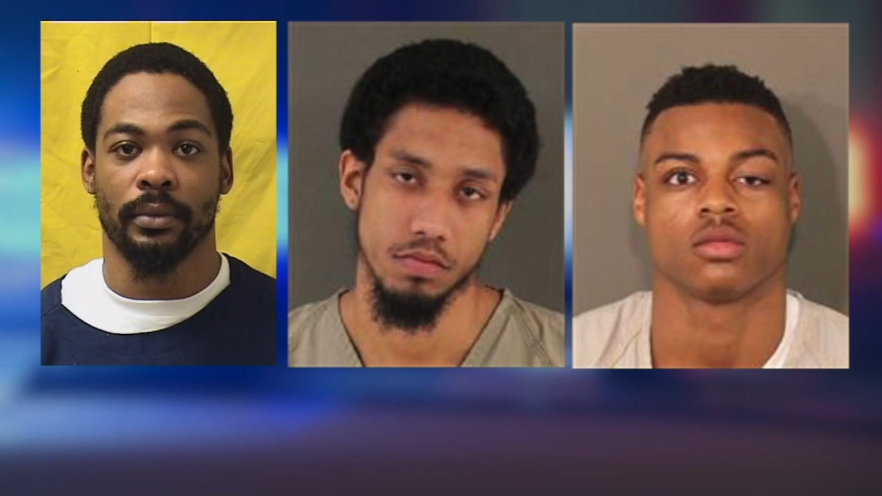 Three men have been charged in an Ohio shooting at a gender reveal party for a woman who wasnt pregnant in 2017.