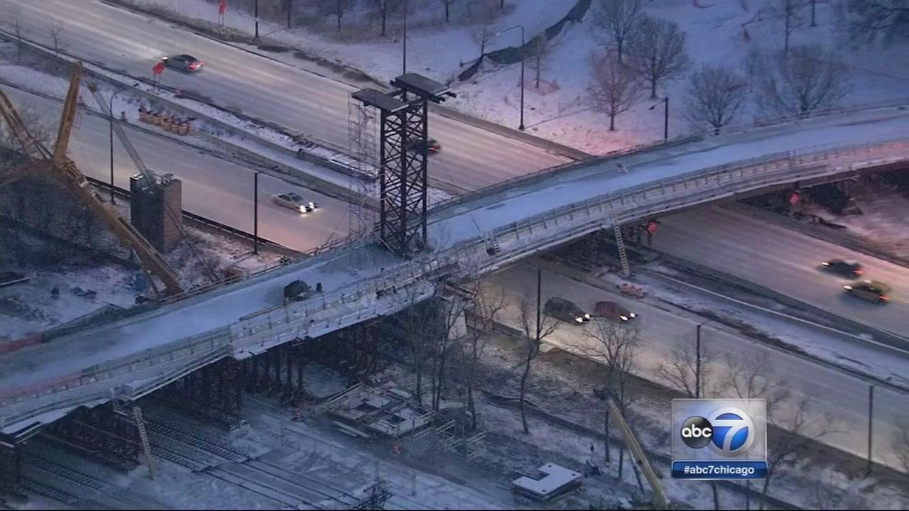 Lake Shore Drive daytime closures at 35th begin