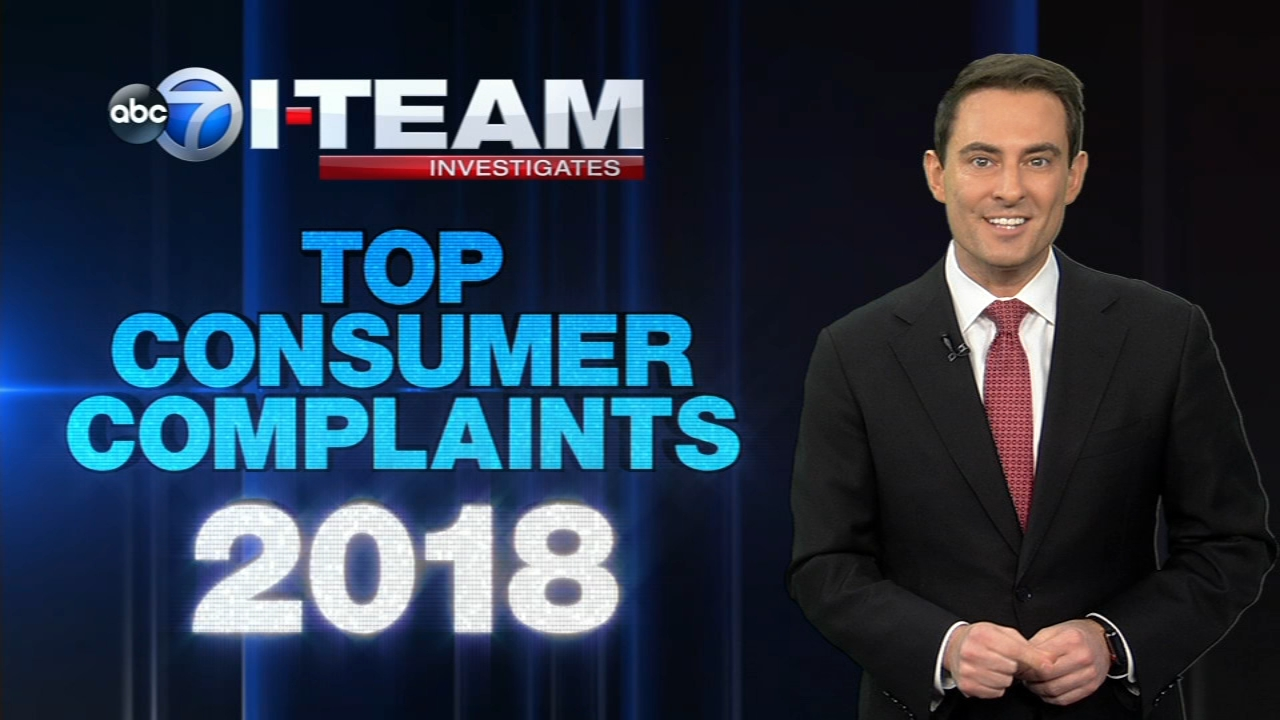 Contractor complaints and safety concerns with smartphone apps were among what the ABC 7 I-Team found to be the top three consumer complaints in 2018.