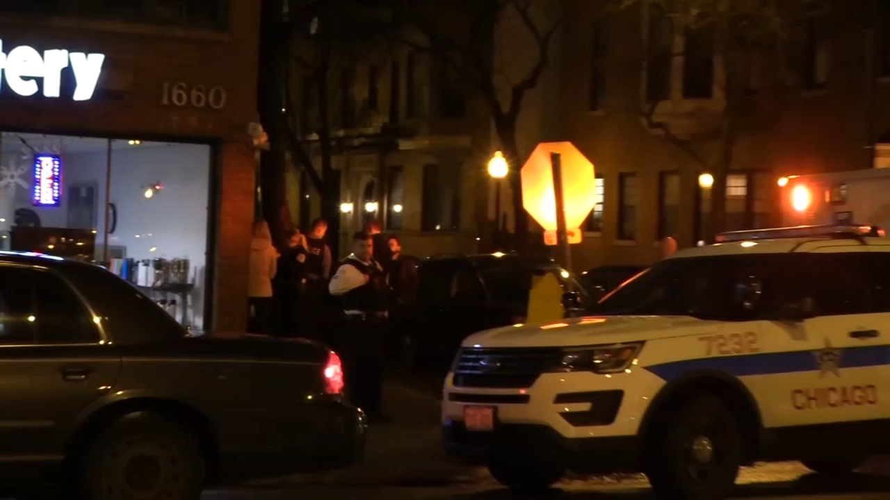 A man who was carjacked in Chicagos Old Town neighborhood Thursday night was injured after being run over by his own car, police said.