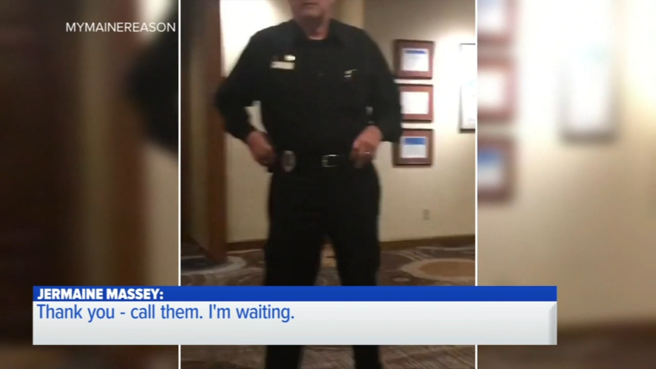The employees who asked a hotel guest to leave when he made a phone call in the lobby have been fired.