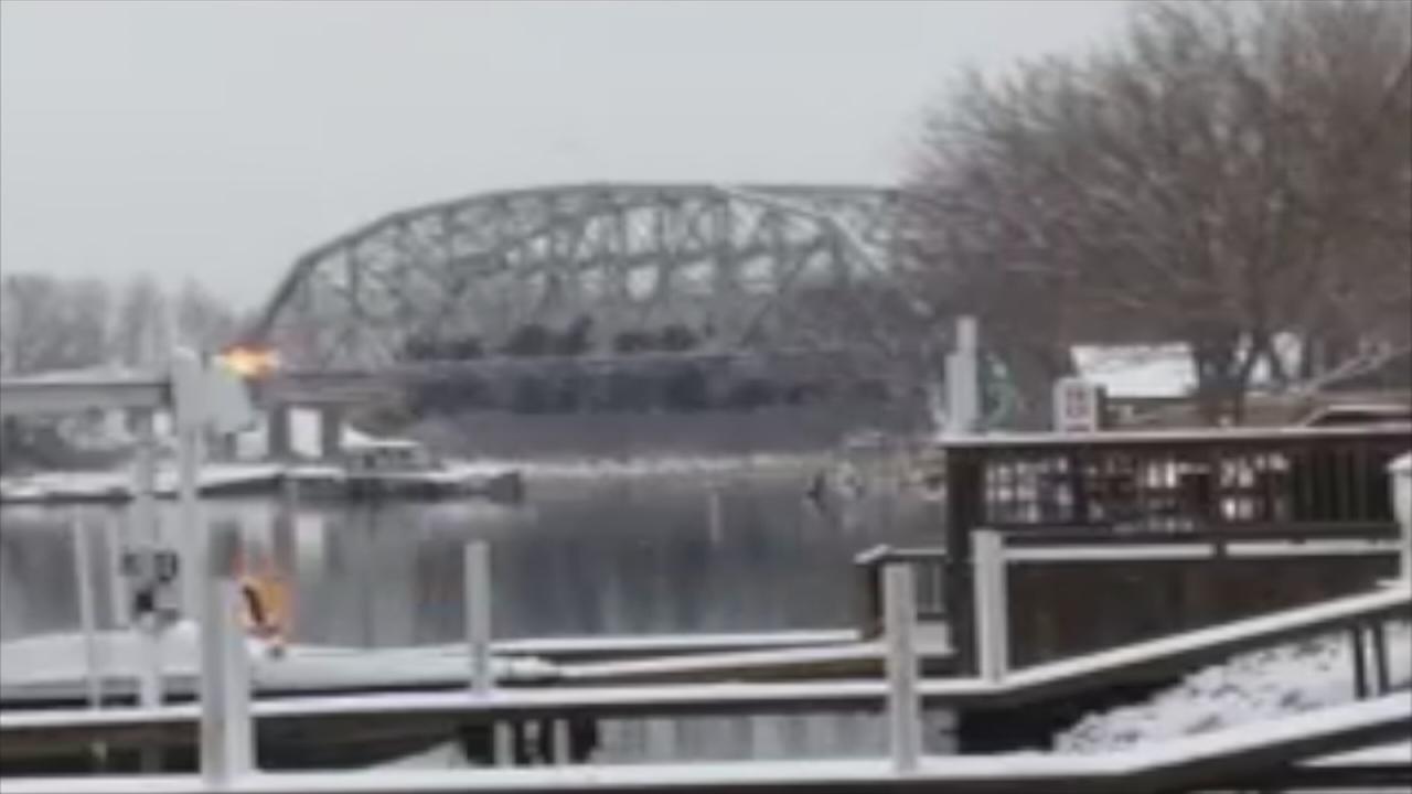 Torrence Avenue bridge demolished