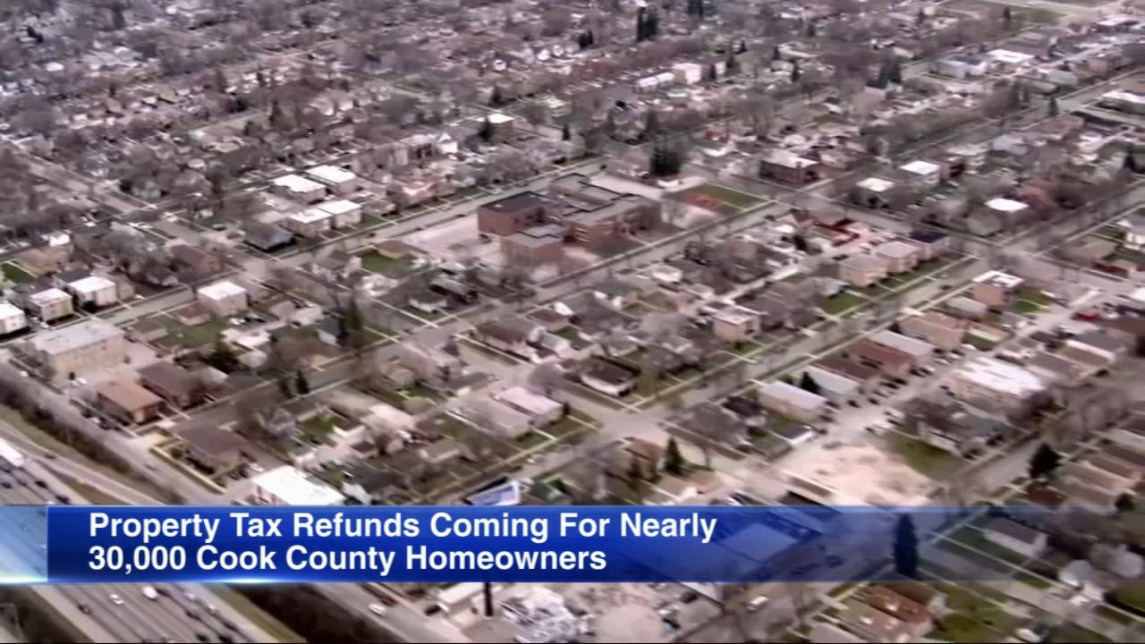 If you overpaid your Cook County property taxes, you will be getting an automatic refund.