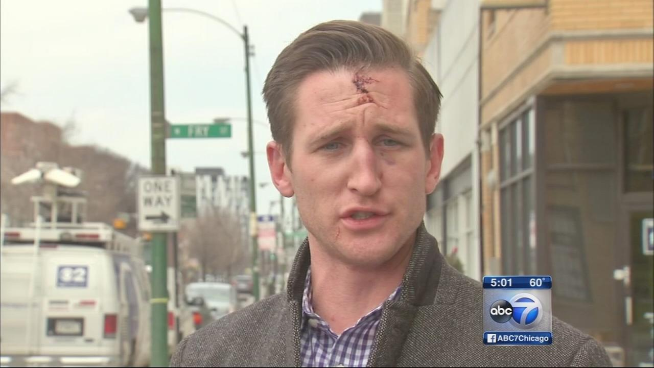 Ill. House candidate says he was physically attacked by opposition volunteers