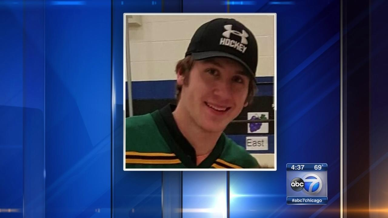 Hockey player severely injured in game continues recovery