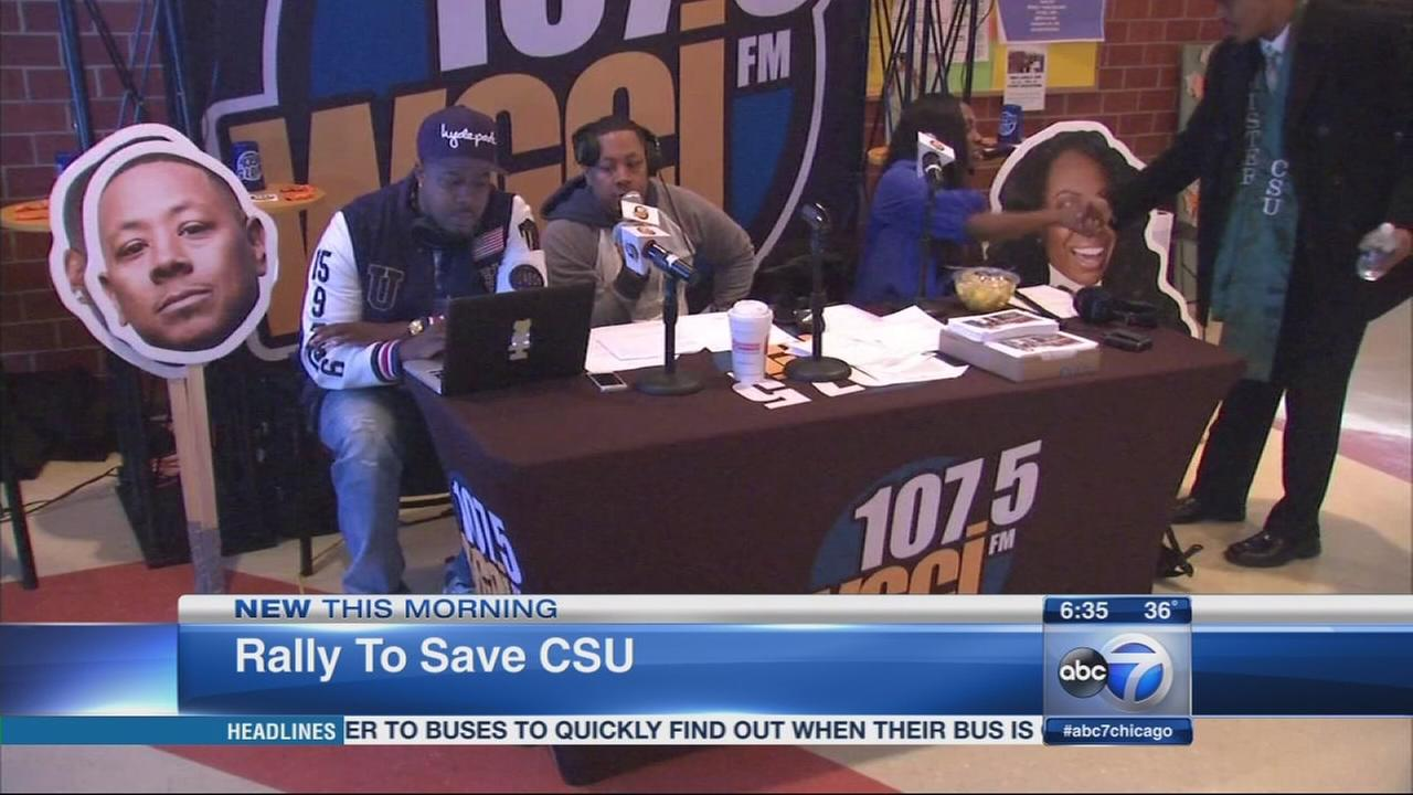 Chicagoans rally to save CSU