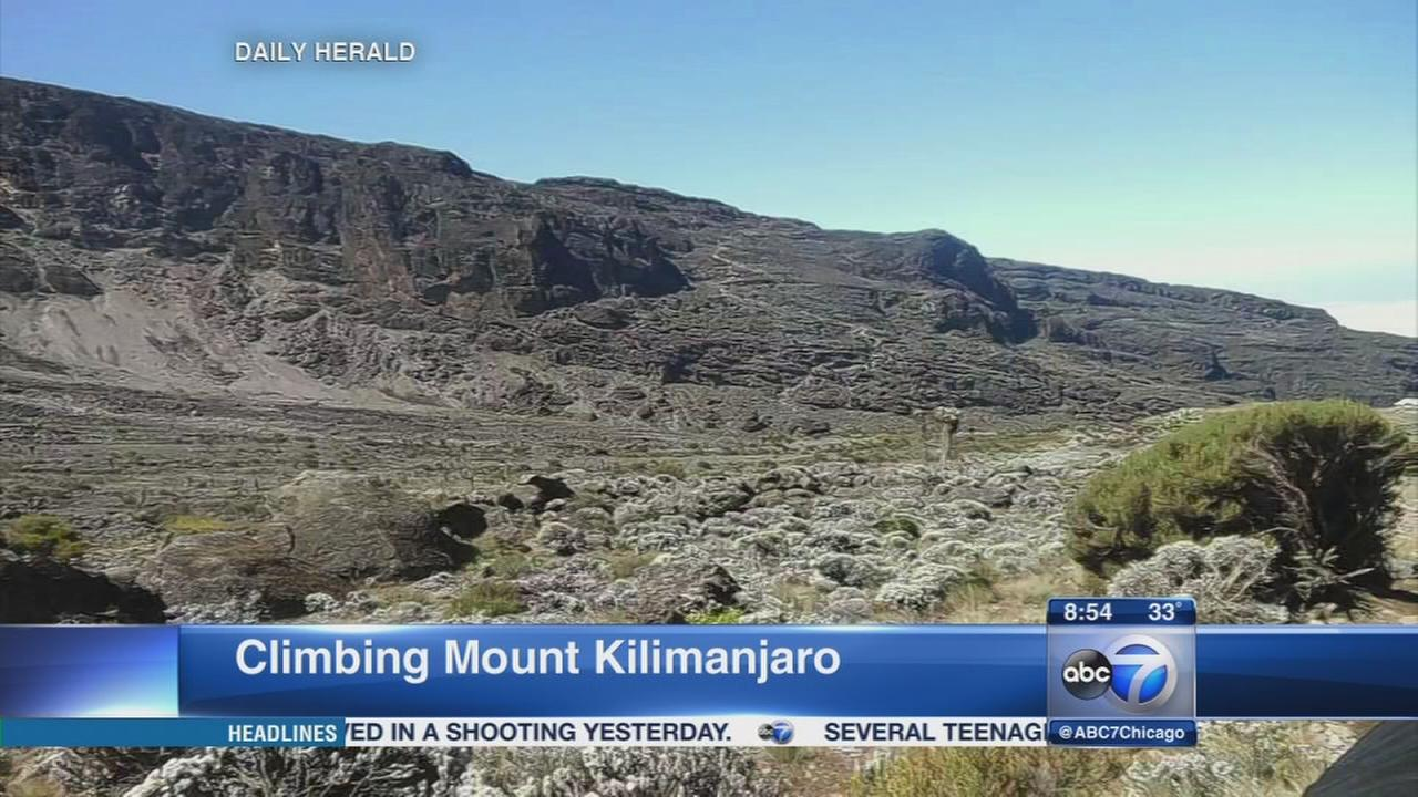 West Dundee man makes 3rd attempt to climb Mount Kilimanjaro