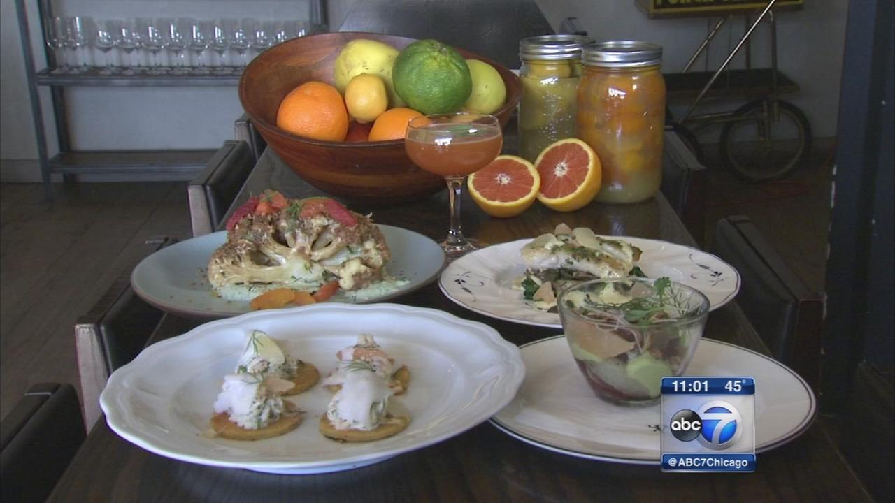 Citrus brightens menu at The Dawson in West Town