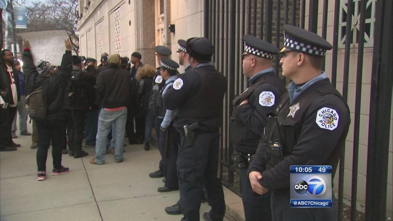 Police unions hiring of Jason Van Dyke sparks anger