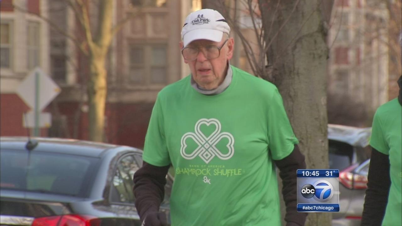 Oak Park man oldest to run Shamrock