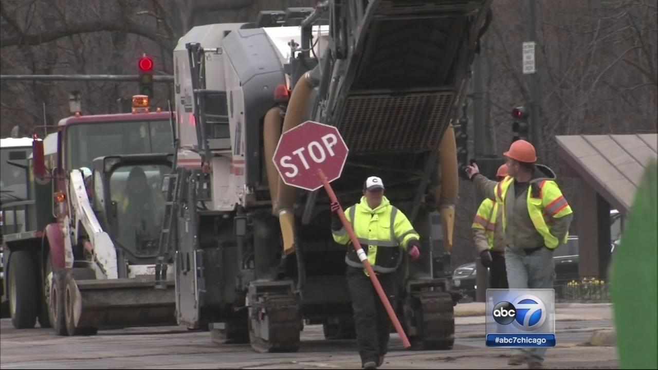 Resurfacing starts early in Chicago