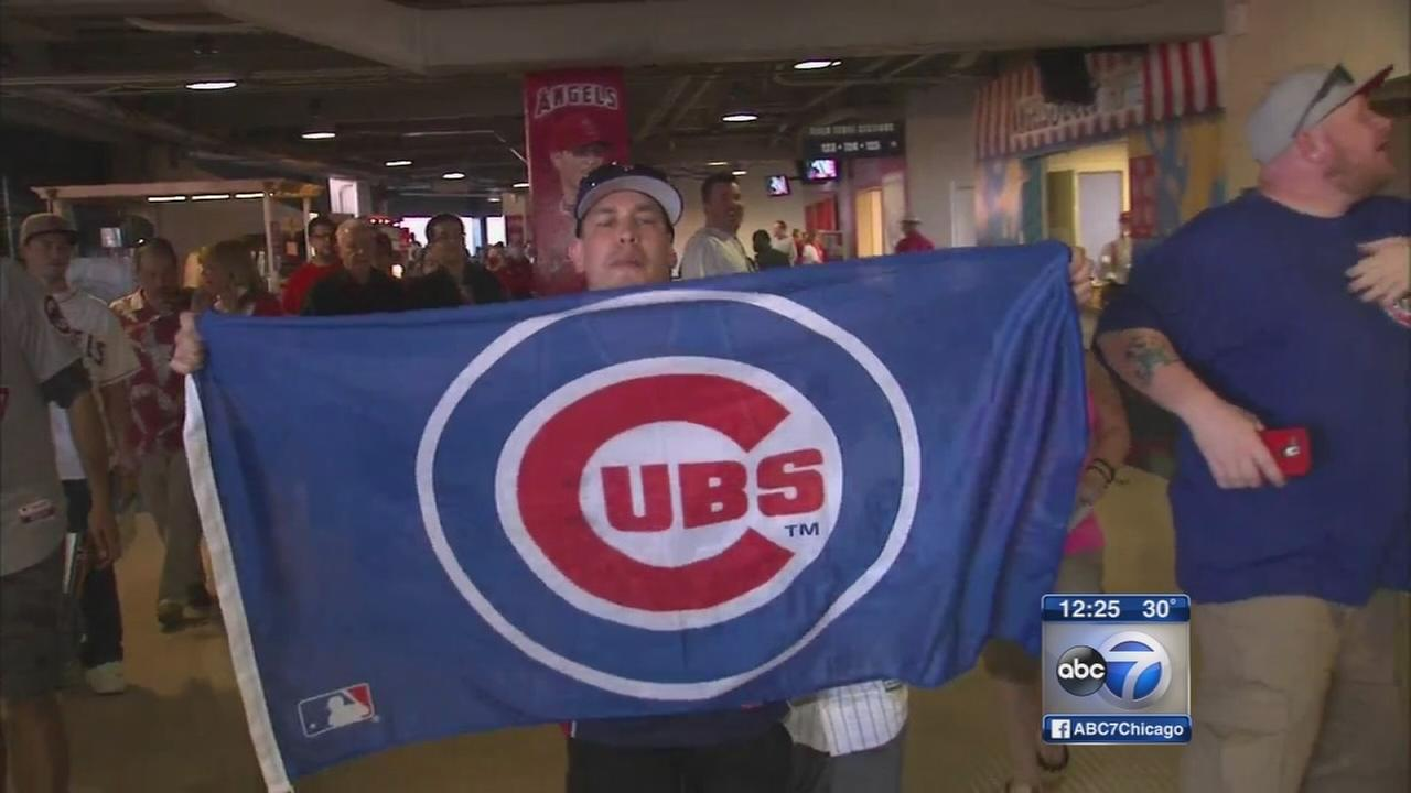 Cubs kick off season with win over LA Angels