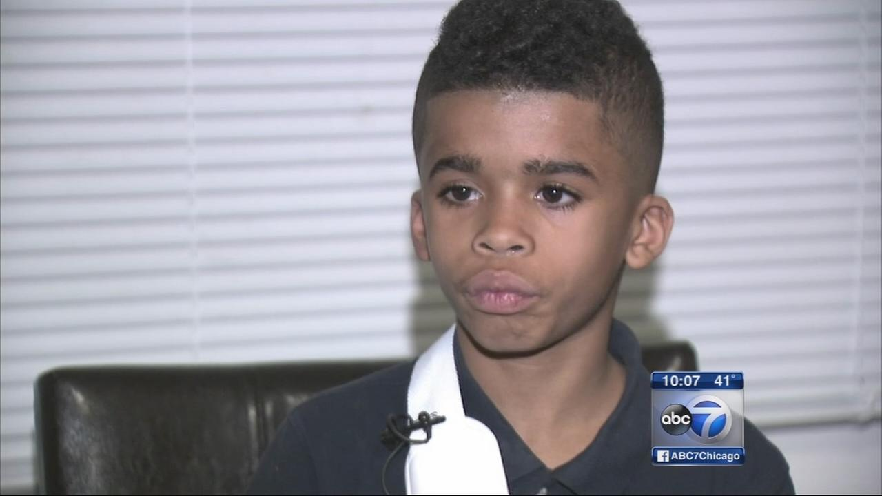 Mom claims son injured by suburban school employee