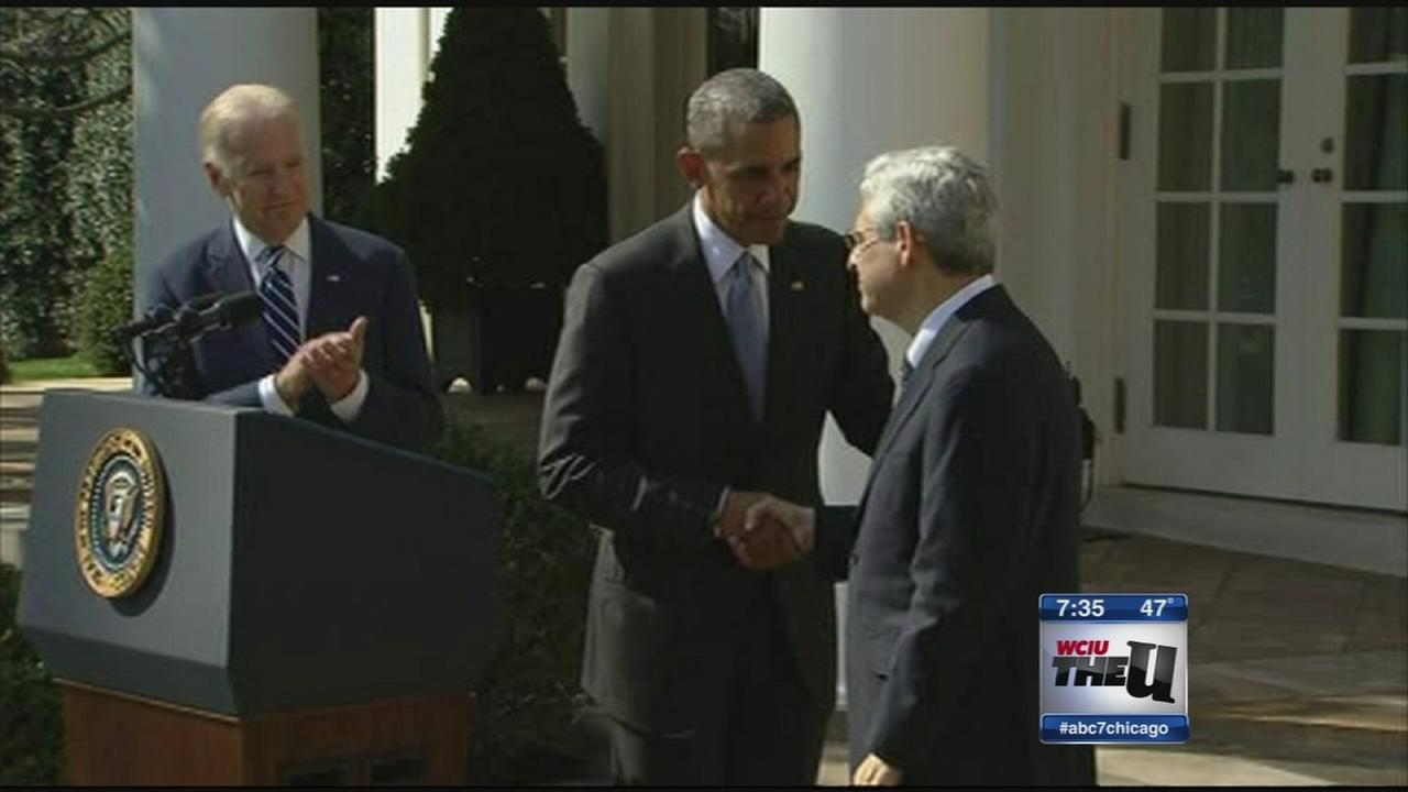 Obama in Chicago Thursday to push Supreme Court nominee