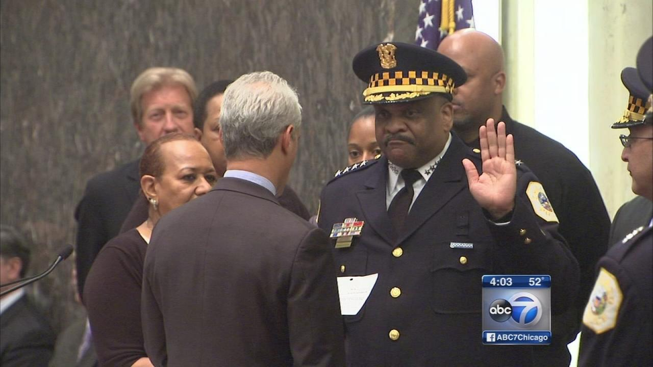 Eddie Johnson named new Chicago police superintendent