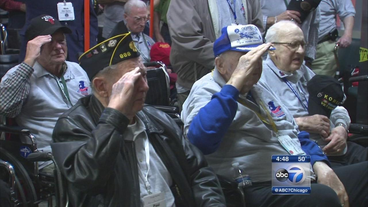 Korean War veterans from Chicago take Honor Flight to DC
