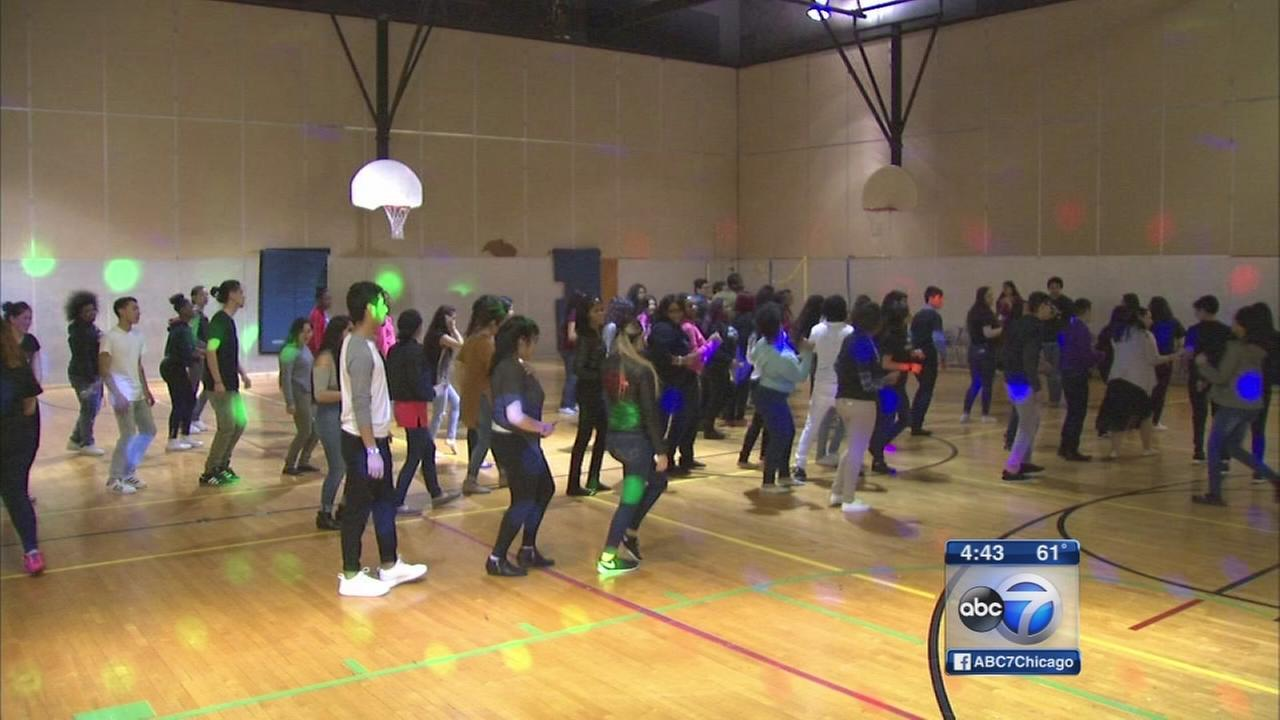 Curie HS students dance their way to We Day