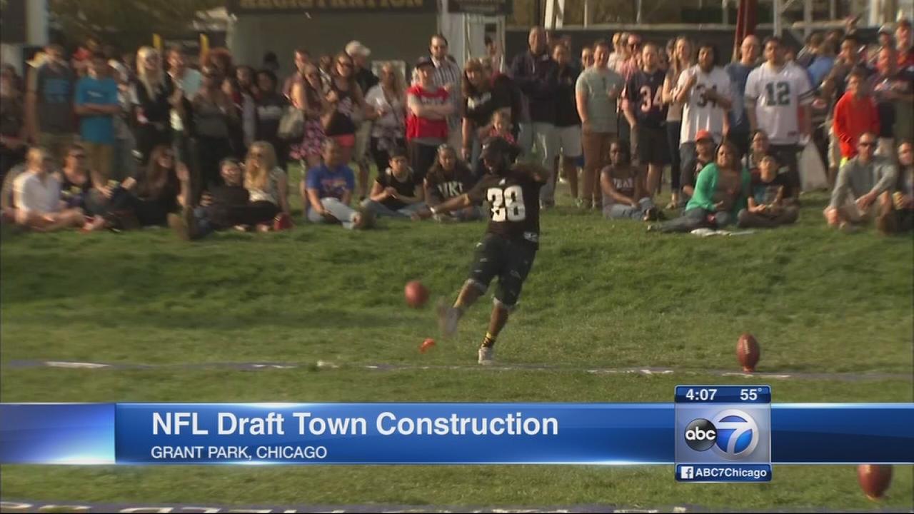 NFL Draft Town Festival starts April 28