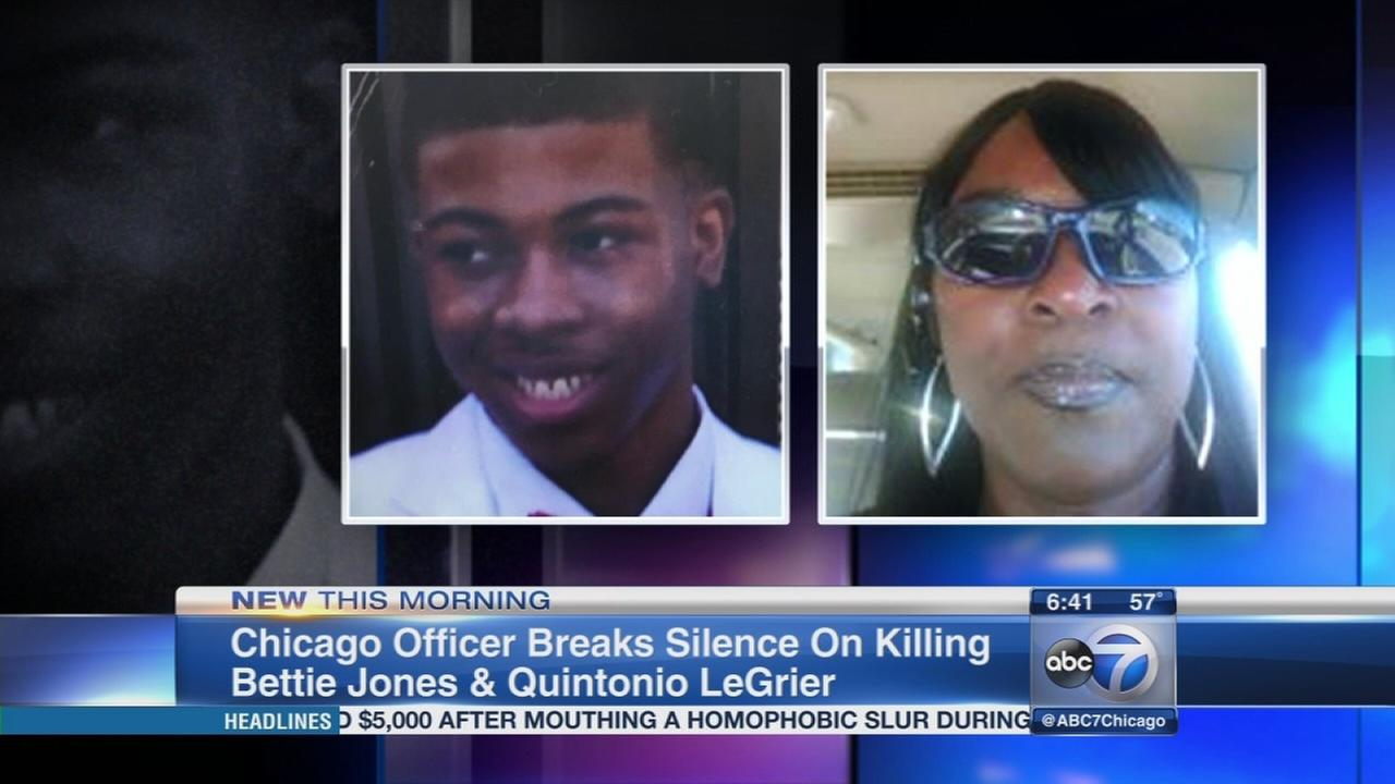 Officer breaks silence on LeGrier Jones