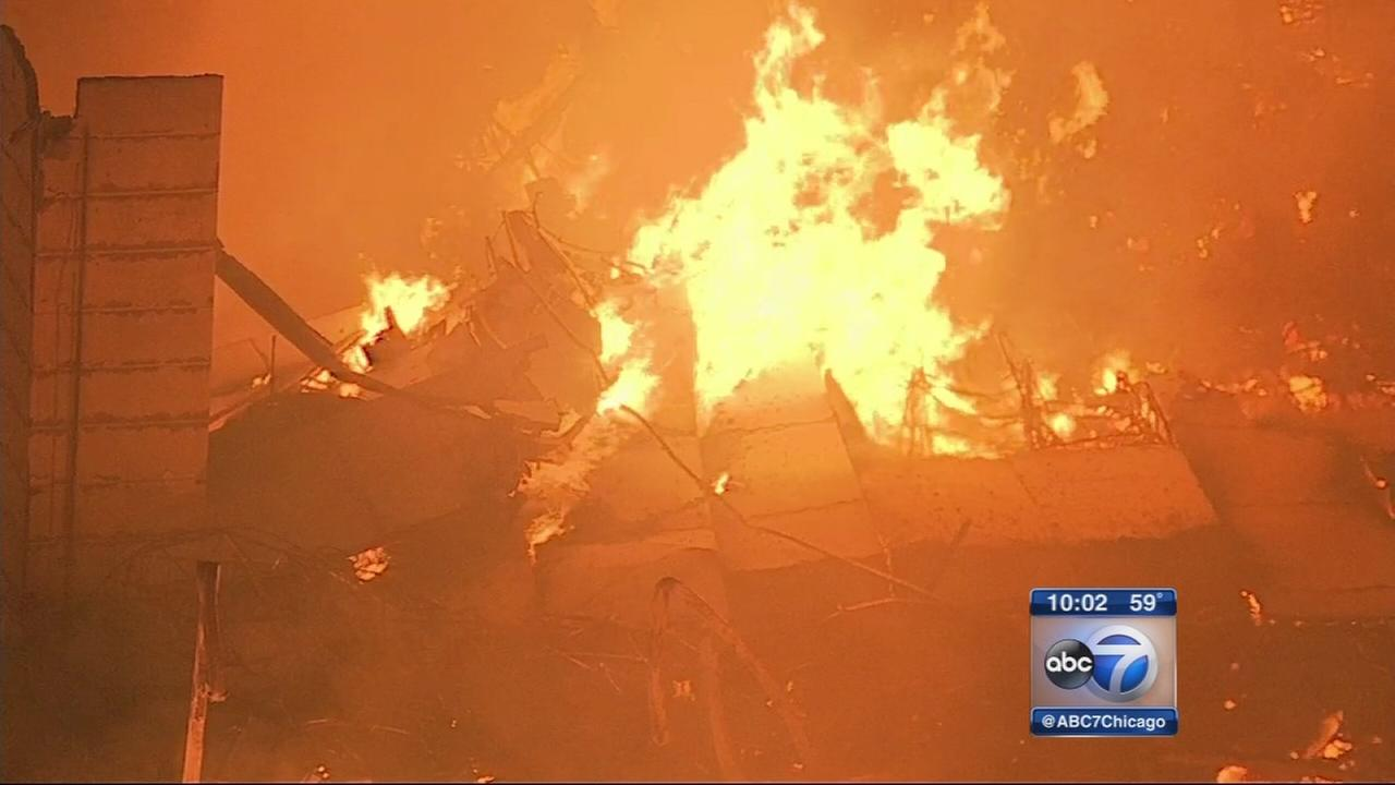 RoomPlace warehouse destroyed by fire