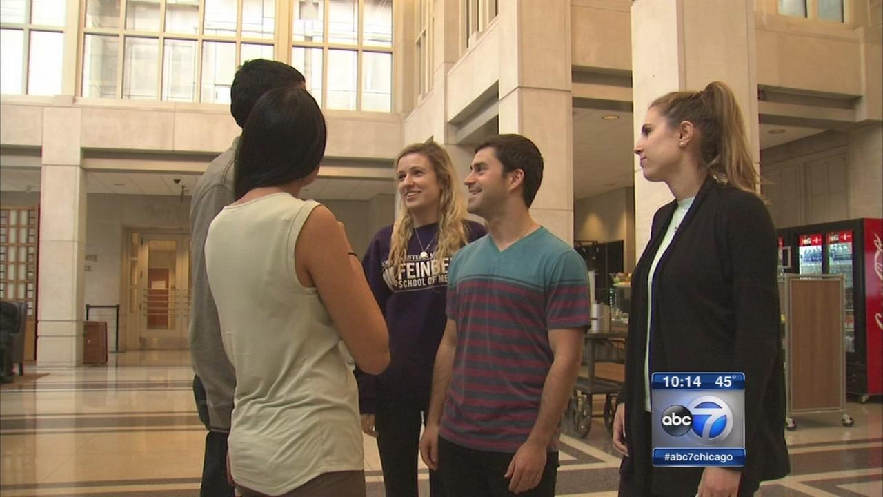 Medical students save mans life during study break