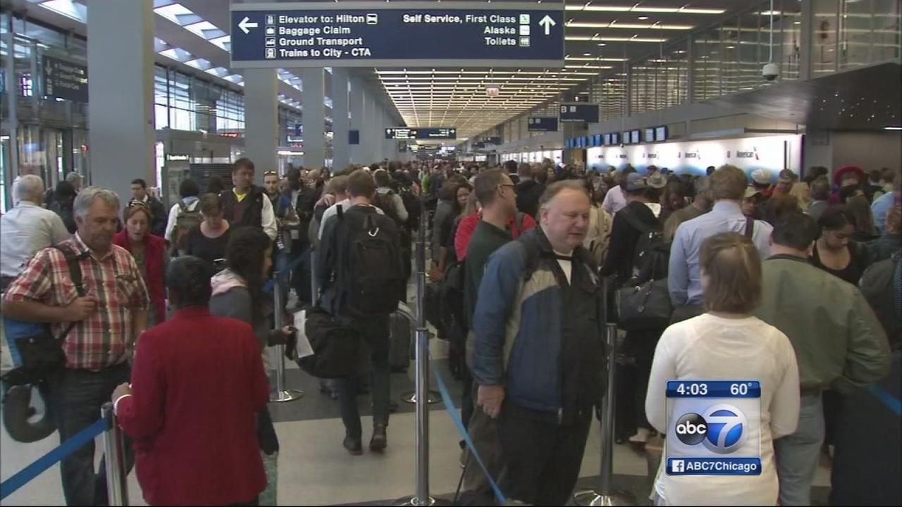 TSA warns of long lines
