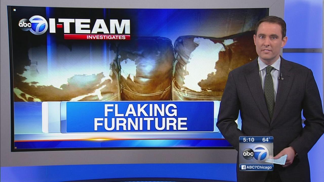 I Team Stores Offer To Help With Flaking Furniture Abc7chicago Com